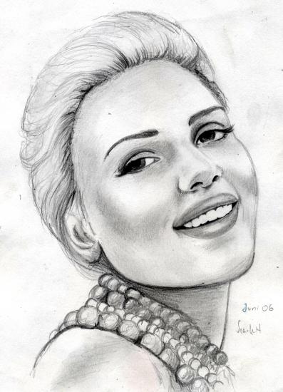 Scarlett Johansson par Phoebe